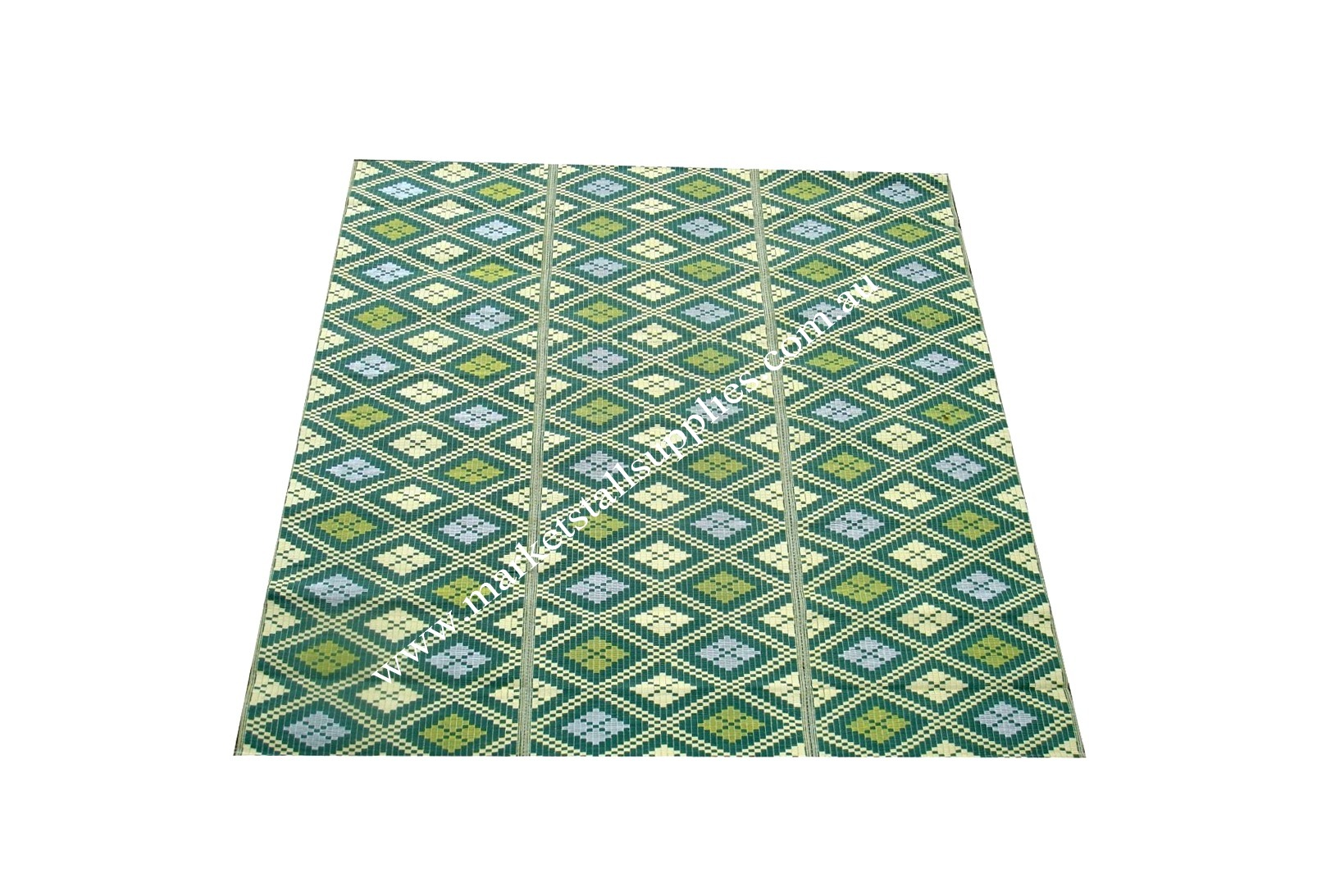 Green and Yellow Mat
