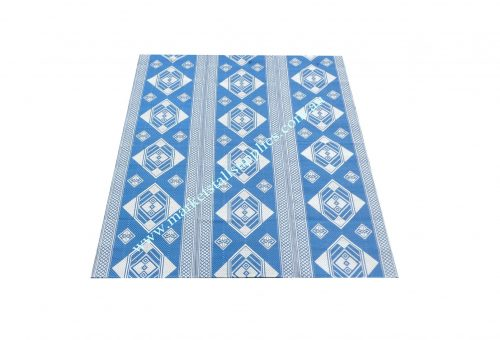 Blue and White Mat Style 2