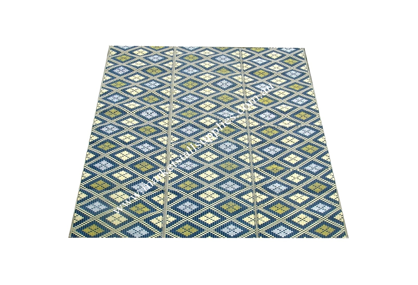 Blue and Yellow Mat